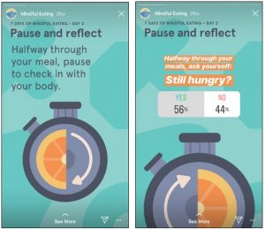 Example of Poll Sticker on Instagram